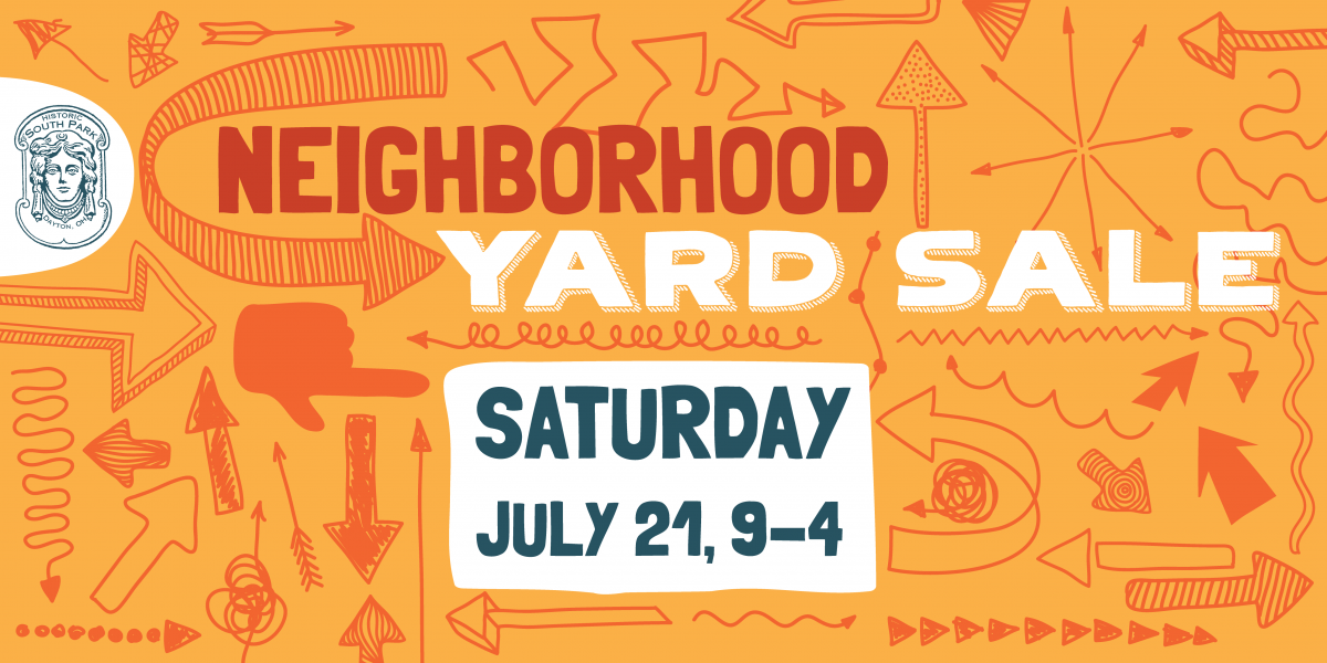 SOUTH PARK NEIGHBORHOOD YARD SALE 2018